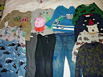 Boys' Clothing Bundle Next, George, H&M and Nut Meg Age 3-4 years
