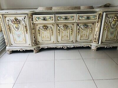 SILIK Style Antique Baroque style Beautiful Peace  Very Solid Wood Very Heavy