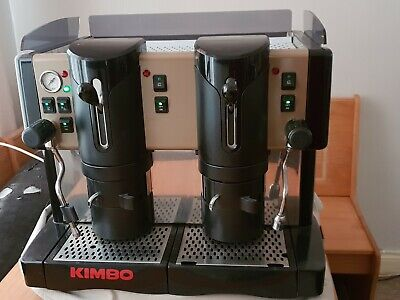 Kimbo Coffee Machine Commercial Use 23X19X18 Capsules Self Clean Hot No Plumbing