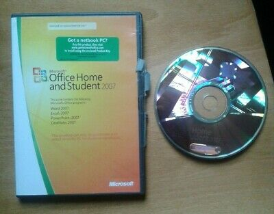 Microsoft Office 2007 Home and Student Edition (Full Version) inc. Word, Excel