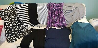 maternity clothes size 10 / small bundle