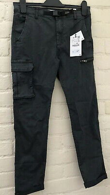 BNWT Zara Boys Trousers (Cargo Style) Dark Grey Age 11-12 (152cms)