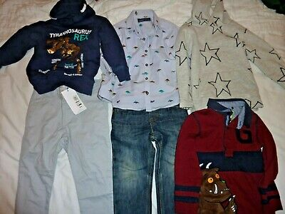 Boys' Clothing Bundle Next, M&S and H&M Age 3-4 years