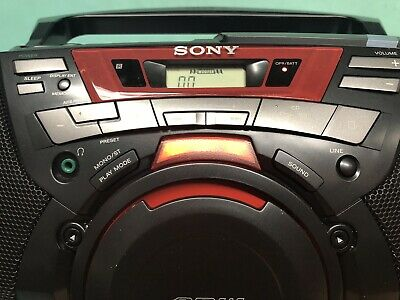 Sony Boombox CFD-G50 NOS New Old Stock RARE