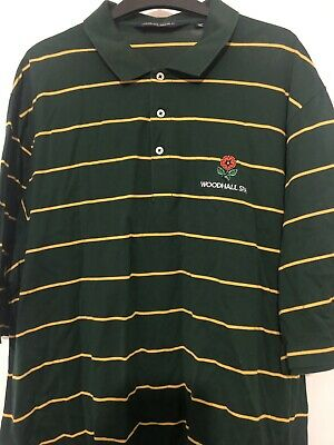 Designer Ralph Lauren Polo Golf Cotton Short Sleeve Polo Shirt Xl