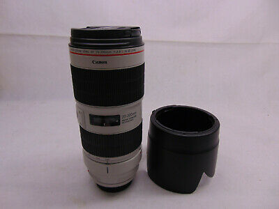 Canon EF 70-200 mm f/2.8L IS III USM Camera Lens (3044C002) - White  #46