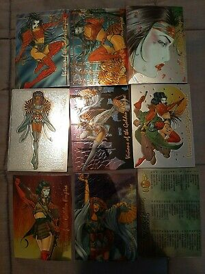 SHI VISIONS OF THE GOLDEN EMPIRE HOLOCHROME CARD SINGLES