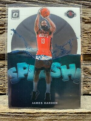 2019-20 JAMES HARDEN Panini Donruss Optic Splash Insert Card FREE S&H