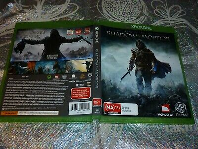 Middle Earth Shadow Of Mordor (Xbox One Game, Ma15+) (153906 A)