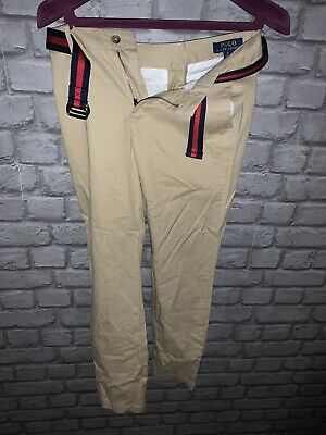 Kids Trousers Polo Ralph Lauren Boys Chino Sand Age 12