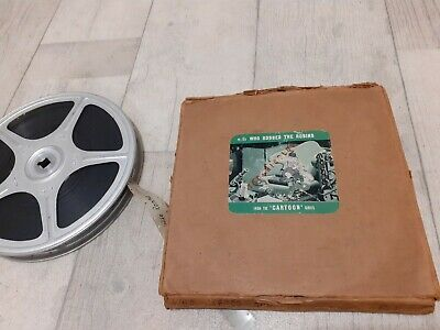 "Rare Vintage 16mm Cine Film Reel ""WHO ROBBED THE ROBINS"""