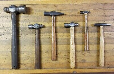Blacksmith Hammers • RARE Antique Cross Peen HAMMER • Anvil Forge Tools ☆USA