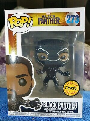 Funko POP! Marvel BLACK PANTHER #273 Limited Edition CHASE( Authentic Funko)USA