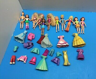 Lot of Polly Pocket Dolls Clothes. 11 Polly Pocket dolls 1 boy doll!! EUC! Nice