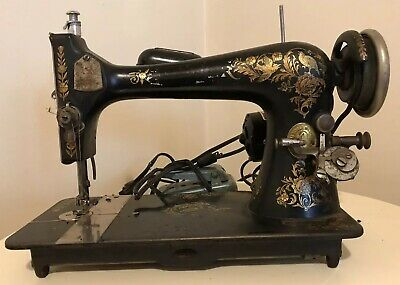 Vintage Singer Sewing Machine w/ Foot Pedal (D1069148) Untested