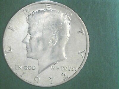 BU condition Free Shipping 1972 Kennedy Half Dollar