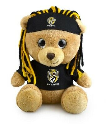 Richmond Tigers Official AFL Plush Sparkle Fanatic Bear Novelty Toy