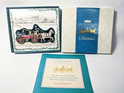 2001 The White House Historical Association Christmas Ornament Original Open Box