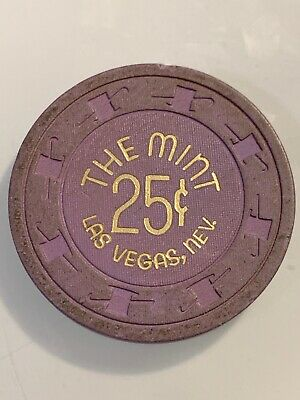 THE MINT $.25 Casino Chip Las Vegas Nevada 3.99 Shipping