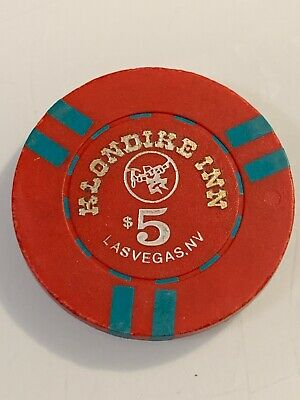 KLONDIKE INN $5 Casino Chip Las Vegas Nevada 3.99 Shipping