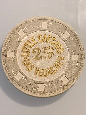 LITTLE CAESARS $.25 Casino Chip LAS VEGAS Nevada 3.99 Shipping