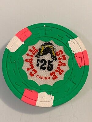 CLAIM STAKE CASINO $25 Casino Chip POSIBLE ERROR SPARKS Nevada 3.99 Shipping