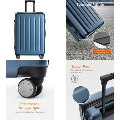 Carry On Luggage 22x14x9 with Spinner Wheels, 100% Polycarbonate Hardside NINETY