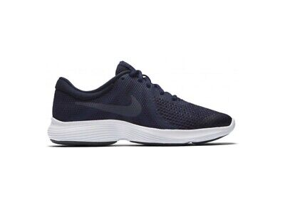 Nike Revolution 4 GS Womens/Girls/ Boys Unisex Navy Trainers Uk 5.5 Eur 38.5