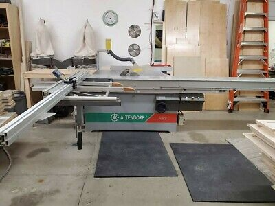 Altendorf F90 Sliding Table Saw 230 volt 3 Phase