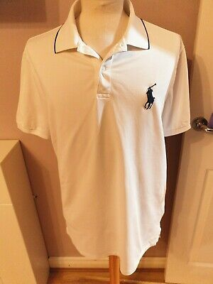Superb Mens Designer Ralph Lauren Golf Polo Shirt Uk Size Large Mens Rrp £95.00