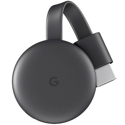 Google Chromecast 3 HDMI Streaming Media Player 3. Generation