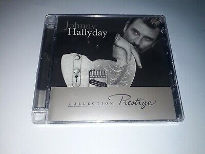 Cd neuf sous blister Johnny Hallyday collection Prestige