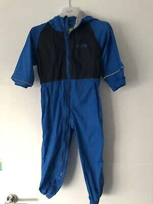 Regatta Puddle Waterproof All In One Charco Rain Suit Kids Childs Boys Girls