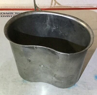 Vintage U.S Military Issued Mess Cup W C W