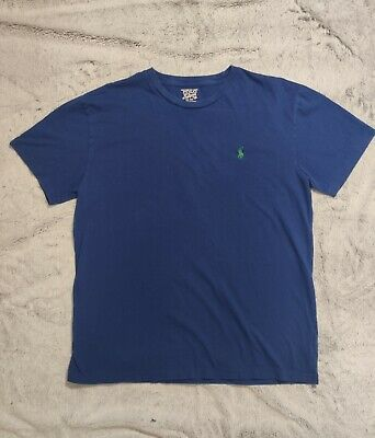 POLO RALPH LAUREN Designer Men's Blue T Shirt Size M