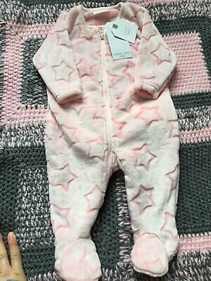 Next 0-3 Months Fluffy All-In-One/Sleep Suit