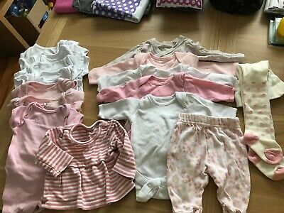 Tiny baby / Small baby bundle girls clothes (tb05)
