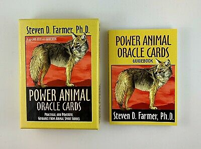 Power Animal Oracle Cards Guidebook and Cards by Steven D. Farmer