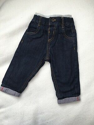 Marks And Spencer Boys Jeans 6-9mths EUC