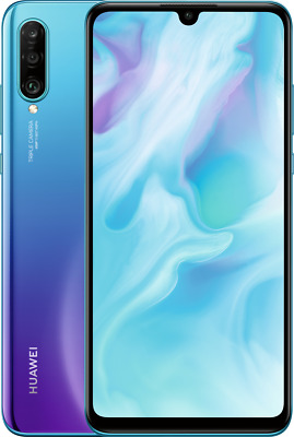 "Huawei P30 lite DualSim 128 GB LTE Android Smartphone 6,15"" Display 48 MP blau"