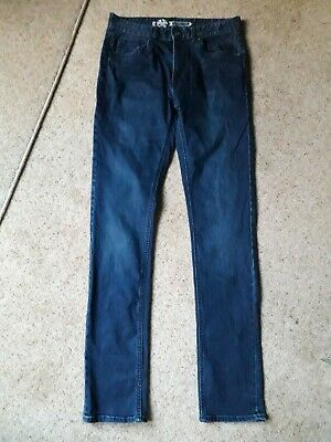 Mens Blue Denim Skinny Jeans. Size 32 Long. Redherring. Only Worn Once!