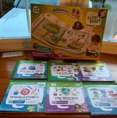 Leapfrog LeapStart 3D Interactive Learning System 2+ Years (pink)