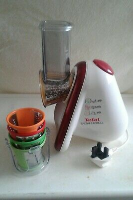 Tefal Fresh Express  With 5 Attachments Food Slicer
