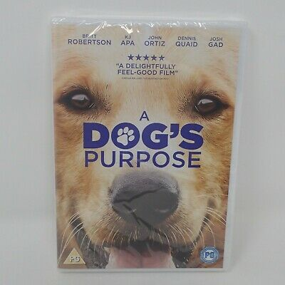 A Dog's Purpose [DVD] [2017] - New  and Sealed DVD Al
