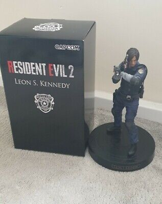 Resident Evil 2 Remake Leon Kennedy Statue/Figure ONLY from CE Box Bundle
