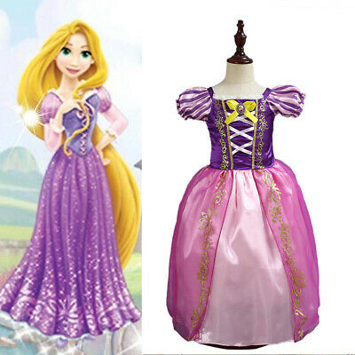 Yongqin Princess Dress up Accessories for Girls,Rapunzel Hair for Kids Tangled
