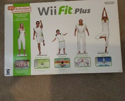 Wii Fit Plus with New Activities