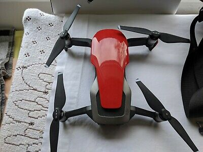 dji mavic air drone fly more combo - RED - NEVER BEEN FLOWN - read description