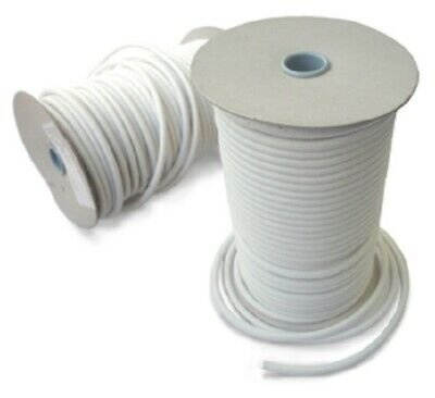 Bungee rope Elastic cord Shock Strech string WHITE 2-4-5-6-8mm various lenghts
