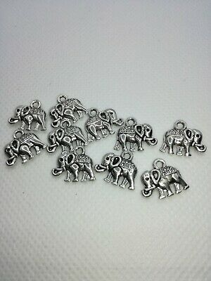 04092 Antique style silver Tone Alloy Look Bell Charm pendant Finding 12pcs